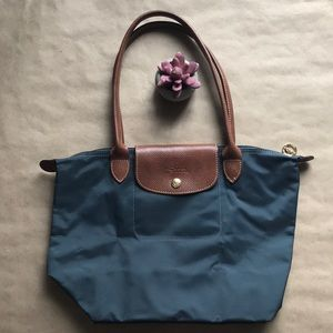 Long champ LE PLIAGE long handle small tote 👜